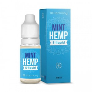 Harmony E-Liquid Mint Hemp 30 mg CBD 0 mg Nicotine